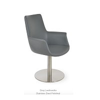 Bottega Round Arm Chair HB | SohoConcept