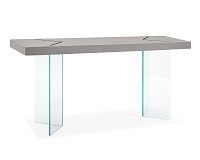 Roxana Console Table Grey Oak Veneer | Whiteline