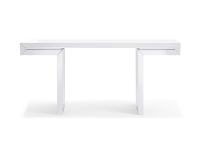 Delaney Console Table White | Whiteline