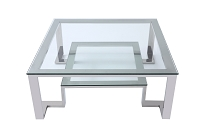 Fab Square Coffee Table | Whiteline