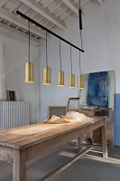 Cirio Lineal 2 Pendant Light | Santa & Cole