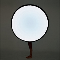 Collapsible Moon Floor Lamp | Pallucco