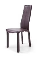 Allison Dining Chair Chocolate | Whiteline