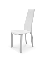 Allison Dining Chair White Leather | Whiteline