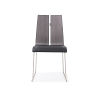 Lauren Dining Chair Grey Black | Whiteline