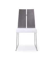 Lauren Dining Chair Grey White | Whiteline