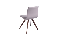 Olga Dining Chair Taupe Natural Walnut Legs | Whiteline