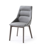 Siena Dining Chair Grey | Whiteline