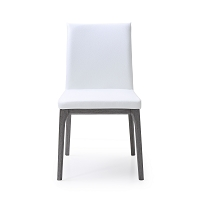 Stella Dining Chair White Oak Veneer In Grey Base | Whiteline