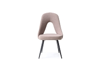 Traci Dining Chair Brown Fabric | Whiteline