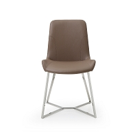 Aileen Dining Chair Taupe | Whiteline