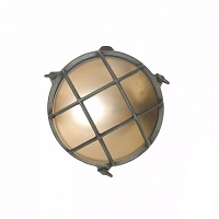 Original BTC Brass Bulkhead 7028 Wall Lamp