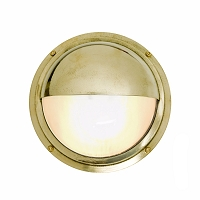 Original BTC Brass Bulkhead 7225 Wall Lamp With Eyelid Shield