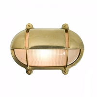 Original BTC Oval Bulkhead 7435 Wall Lamp with Eyelid shield