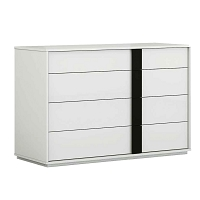 Kimberly Dresser Large High Gloss White | Whiteline
