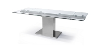Slim Extendable Dining Table | Whiteline