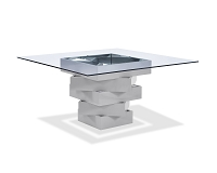 Carson Dining Table Grey | Whiteline