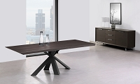 Tala Dining Table In Wenge Oak Veneer | Whiteline