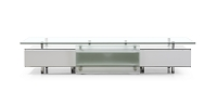 Ema TV Stand High Gloss White | Whiteline