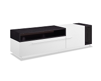 Esther TV Stand White Oak Veneer | Whiteline