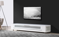 Editor Remix TV Stand in All White | B-Modern