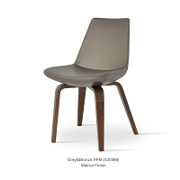 Eiffel Plywood Chair Leather | SohoConcept