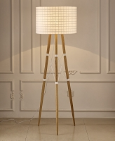 Amber Floor Lamp White | Whiteline