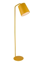 Dante Floor Lamp In Yellow Carbon Steel | Whiteline