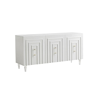 Tov Furniture Famke White Lacquer Buffet