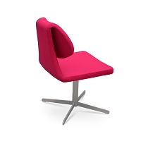 Gakko 4 Star Swivel Chair Fabric | SohoConcept