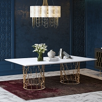 Tov Furniture Gatsby Concrete Dining Table