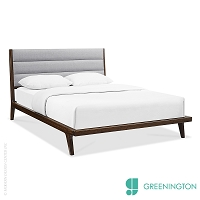 Mercury Queen Platform Bed | Greenington