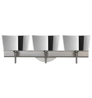 Groove 3-Light Wall Sconce | Besa Lighting