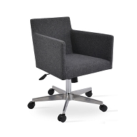 Harput Arm Office Chair Fabric | SohoConcept