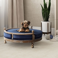 Tov Furniture Hound Navy Pet Bed