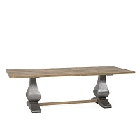 Island Estate Reclaimed Teak Dining Table | Padma's Plantation