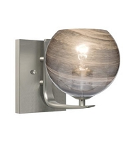 Jilly 1-Light Vanity Wall Sconce | Besa Lighting