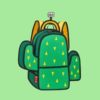 Backpack Pop Art Cactus | JumpFromPaper