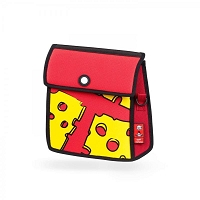 Shoulder Bag Pop Art Cheese | JumpFromPaper