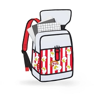 Backpack Pop Art | JumpFromPaper