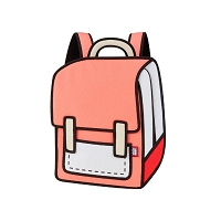 Backpack Spaceman Color Me In | JumpFromPaper