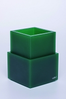 Toothbrush Holder Metro Emerald Green | Vallve