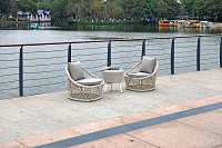 Canyon Outdoor 3-Piece Set Chairs Table | Whiteline