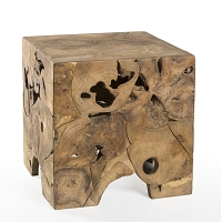 Teak Root End Table | Padma's Plantation