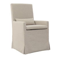 Sandspur Beach Arm Dining Chair | Padma's Plantation