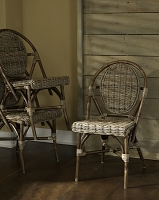 Paris Kubu Bistro Chair Set of 2 | Padma's Plantation