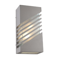 PLC Lighting Perlage Exterior Silver