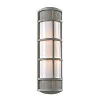 PLC Lighting Olsay 2 Light Exterior Silver GU24