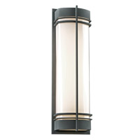 PLC Lighting Telford 2 Light Exterior Bronze GU24