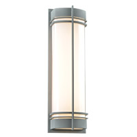 PLC Lighting Telford 2 Light Exterior Silver